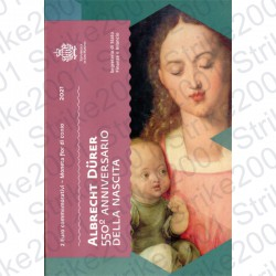 San Marino - 2€ Comm. 2021 FDC Albrecht Durer in Folder