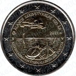 Finlandia - 2€ Comm. 2021 FDC Isole Aland