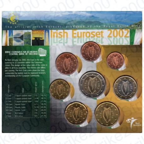 Irlanda 2002 - Divisionale Confezione Olanda FDC