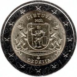 Lituania - 2€ Comm. 2021 FDC Dzukija