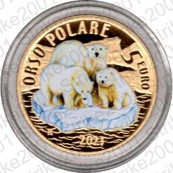 Italia - 5€ Comm. 2021 FS Tigre
