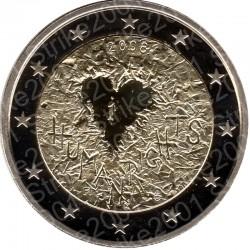 Finlandia - 2€ Comm. 2008 FS Diritti Uomo