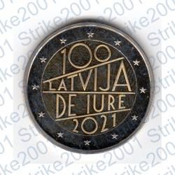 Lettonia - 2€ Comm. 2021 FDC De Iure