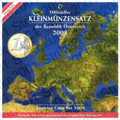 Austria - Divisionale Ufficiale 2008 FDC