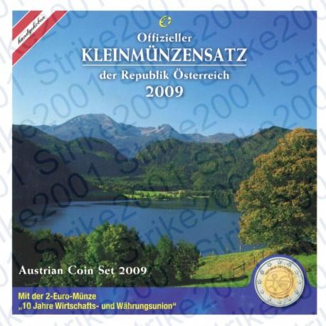 Austria - Divisionale Ufficiale 2009 FDC