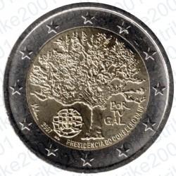 Portogallo - 2€ Comm. 2007 FDC Presidenza Europea