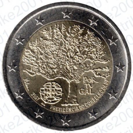 Portogallo - 2€ Comm. 2007 Presidenza Europea FDC