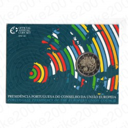 Portogallo - 2€ Comm. 2007 FDC Presidenza Europea in Folder