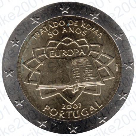 Portogallo - 2€ Comm. 2007 Trattato Roma FDC