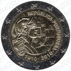 Portogallo - 2€ Comm. 2010 FDC Repubblica Portoghese