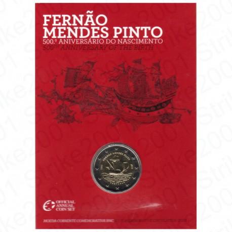 Portogallo - 2€ Comm. 2011 in Folder Mendes Pinto FDC