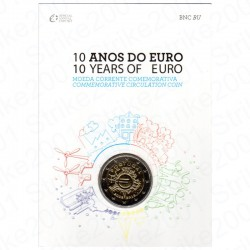 Portogallo - 2€ Comm. 2012 FDC Anniversario  in Folder
