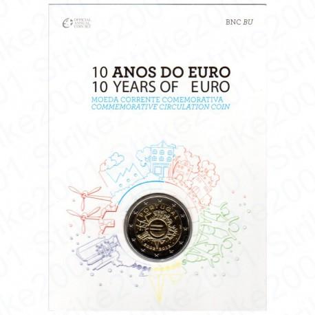 Portogallo - 2€ Comm. 2012 in Folder Anniversario FDC