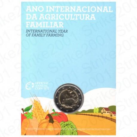 Portogallo - 2€ Comm. 2014 in Folder Agricoltura FDC