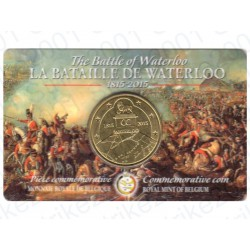 Belgio - 2,5€ 2015 Waterloo in Folder