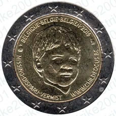Belgio - 2€ Comm. 2016 FDC Child Focus