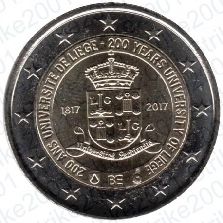 Belgio - 2€ Comm. 2017 Università Liegi FDC