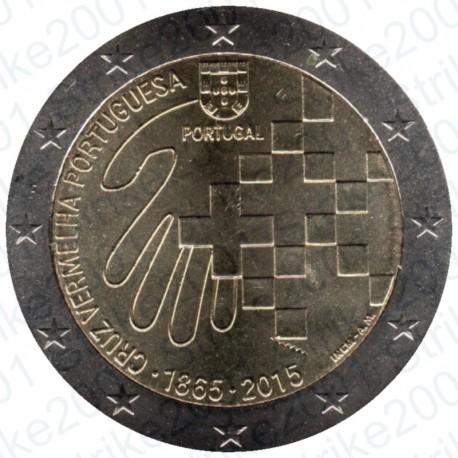 Portogallo - 2€ Comm. 2015 Croce Rossa FDC