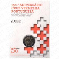 Portogallo - 2€ Comm. 2015 FDC Croce Rossa in Folder