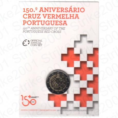 Portogallo - 2€ Comm. 2015 in Folder Croce Rossa FDC