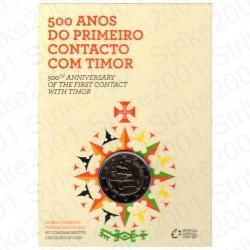 Portogallo - 2€ Comm. 2015 FDC Timor in Folder