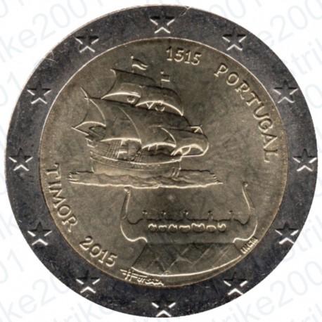 Portogallo - 2€ Comm. 2015 Timor FDC