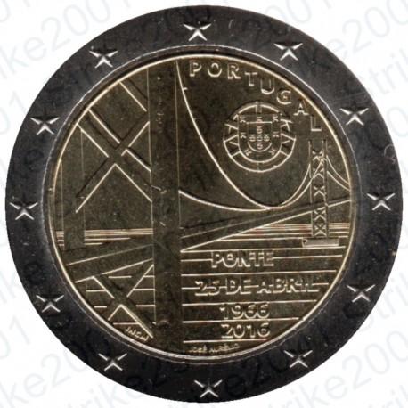 Portogallo - 2€ Comm. 2016 Ponte FDC