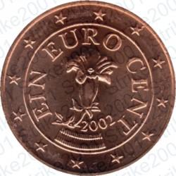 Austria 2002 - 1 Cent. FDC