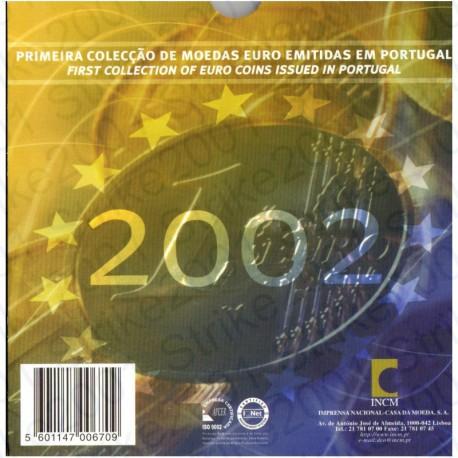 Portogallo - Divisionale Ufficiale 2002 FDC