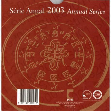 Portogallo - Divisionale Ufficiale 2003 FDC