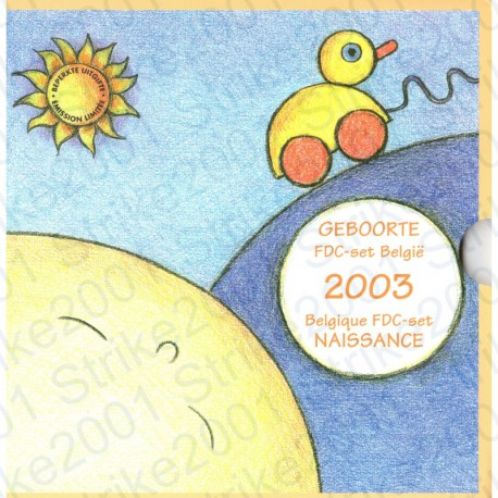 Belgio - Serie Bebè 2003 FDC