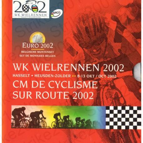 Belgio - Serie Ciclismo 2002 FDC
