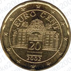 Austria 2002 - 20 Cent. FDC
