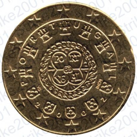 Portogallo 2002 - 20 Cent. FDC