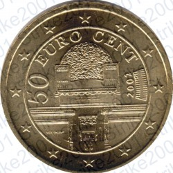 Austria 2002 - 50 Cent. FDC