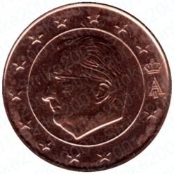 Belgio 2001 - 1 Cent. FDC