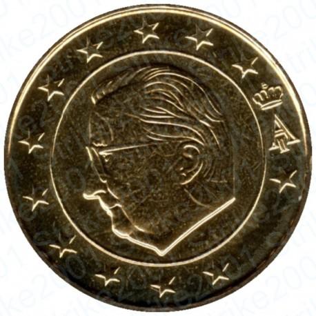 Belgio 2001 - 10 Cent. FDC
