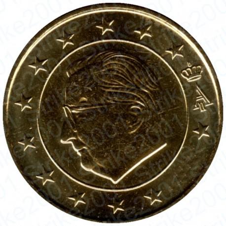 Belgio 2001 - 50 Cent. FDC