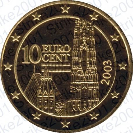 Austria 2003 - 10 Cent. FDC